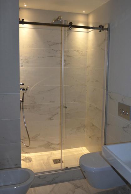 Box doccia su misura easytek produzione e vendita showroom milano - Cabine doccia su misura ...