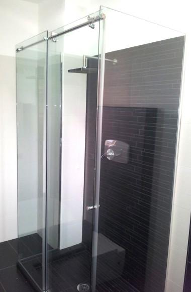 box doccia su misura tre lati scorrevole