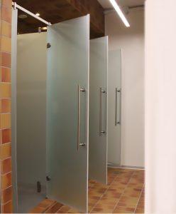 cabine doccia palestra