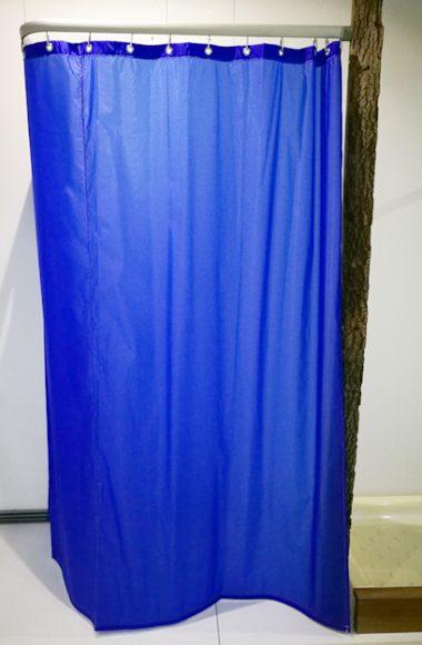 tenda per doccia blu in offerta