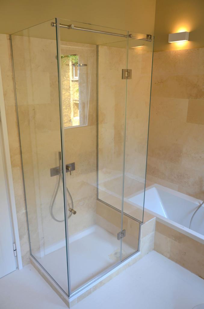 Muretto Doccia Spessore: Lusso box doccia con muretto idee di miglioramento domestico. Muretto ...