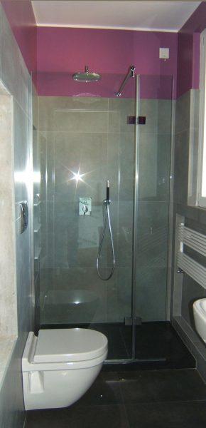 schermo fisso per doccia