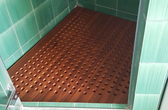pedana doccia sagomata