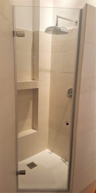 box doccia anta singola su misura