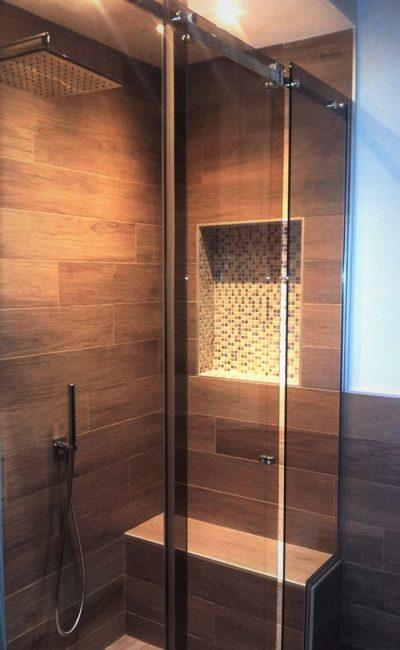box doccia scorrevole su misura